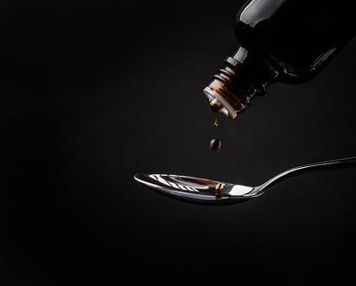 Teaspoonful of Cough Medicine