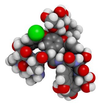 3D Model of Vancomycin